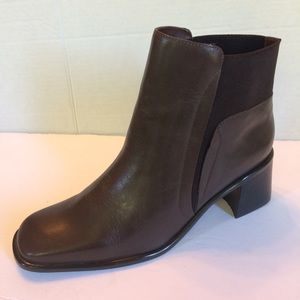 New Bruno Valentine Leather Ankle Boots